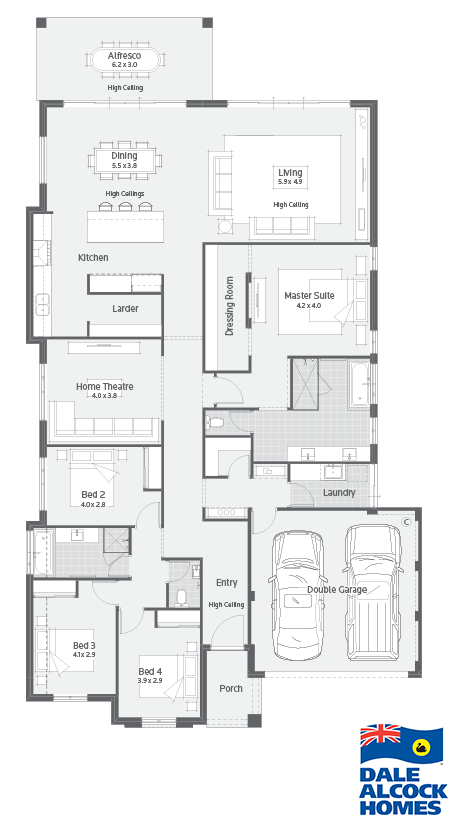 Nelson Dale Alcock Homes Home Design Floor Plans My House Plans How To Plan