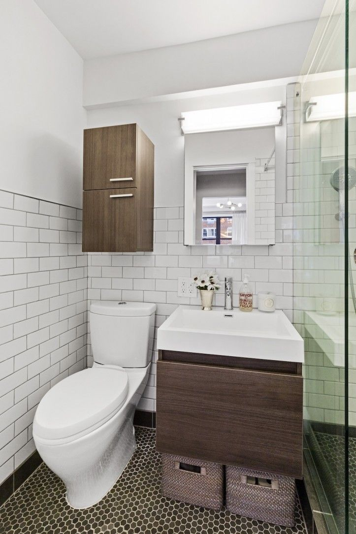 a studio apartment turns movie set in manhattan bathroom remodels rh pinterest co uk DIY Bathroom Renovations Before and After Bathroom Renovations