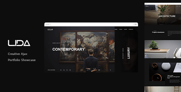 Lida - Ajax Portfolio Showcase HTML Template  ⠀  Lida is a new portfolio concept for creative agencies and freelancers. Graphic designers, illustrators, photographers or any kind of creative is now able to create a quick and easy portfolio to sho...  ⠀  #columns4 #ajax #animation #designgrid #svg #themeforest #agency #business #video #gallery #creative #minimal #modern #responsive #portfolio #studio #unique #elegant