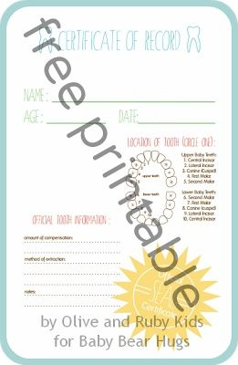 Love this tooth fairy certificate it is an adorable free love this tooth fairy certificate it is an adorable free printable must yadclub Images