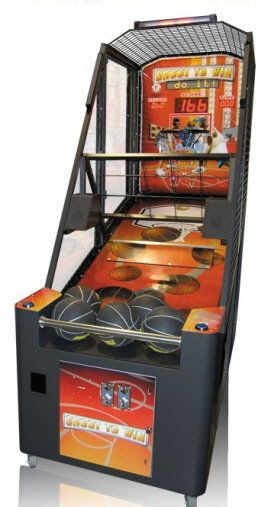 Shoot To Win Basketball Arcade Machine By Smart Industries Basketball Arcade Games Arcade Arcade Games