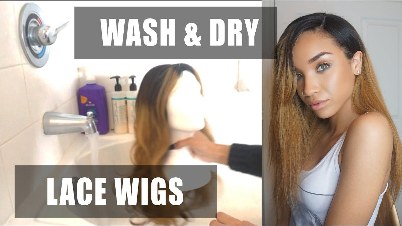 HAIR How to Wash a Lace Wig + WowAfrican CLW10 Review