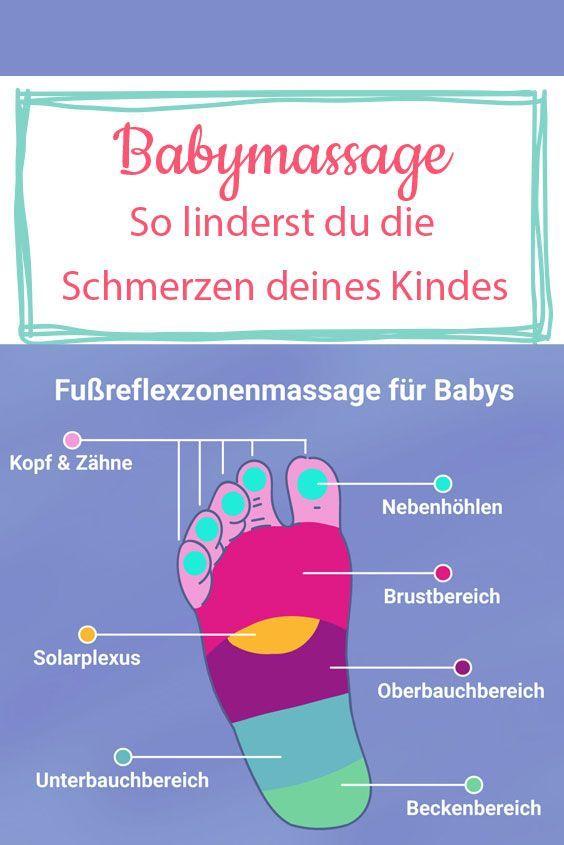 Mit dieser Massage kannst deinem Kind etwas Gutes tun