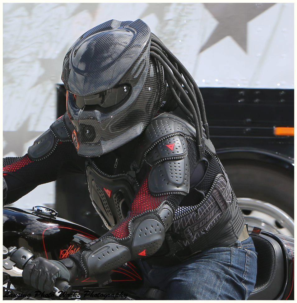 Predator Motorcycle Helmet Motocircle Looks