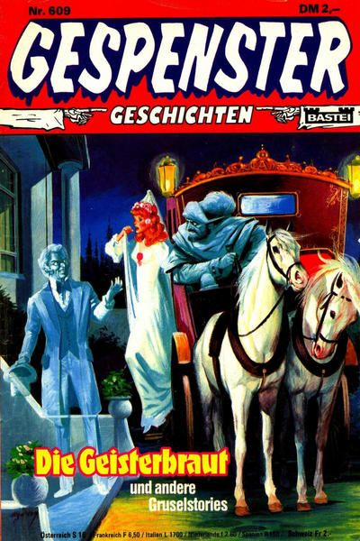 Cover for Gespenster Geschichten (Bastei Verlag, 1974 series) #609