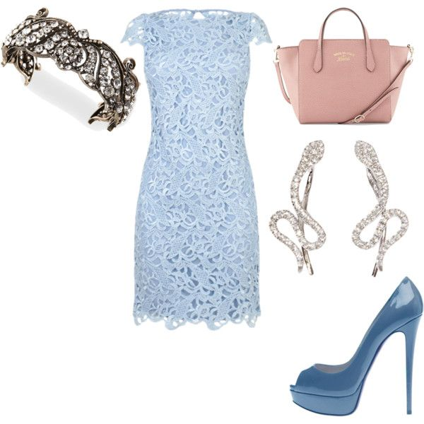 Untitled #21206 by edasn12 on Polyvore featuring мода, Alice + Olivia, Gucci, Lulu Frost, Samira 13 and Christian Louboutin