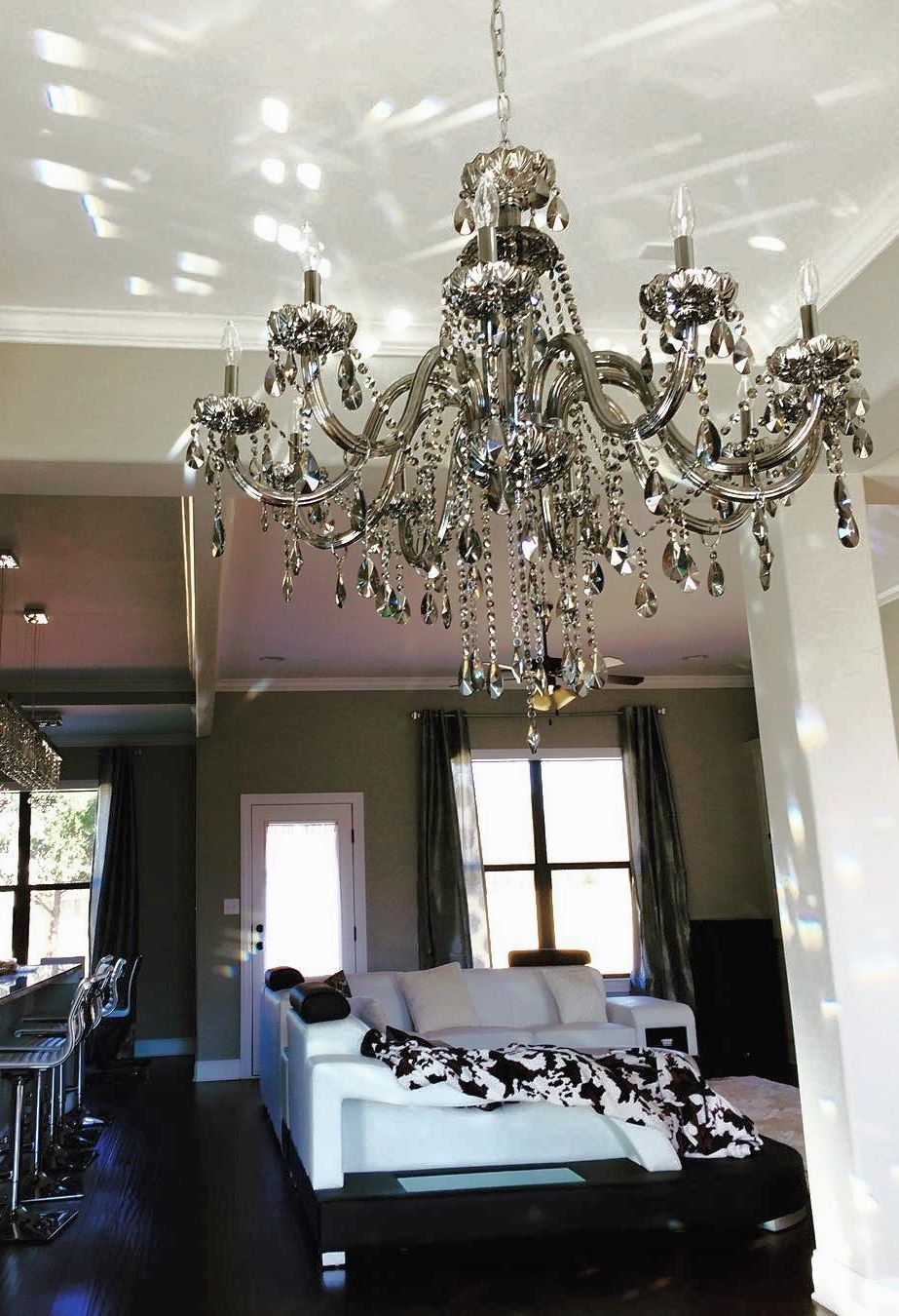 Make A Grand Appearance With The Premier Crystal Omni Chandelier From Z Gallerie
