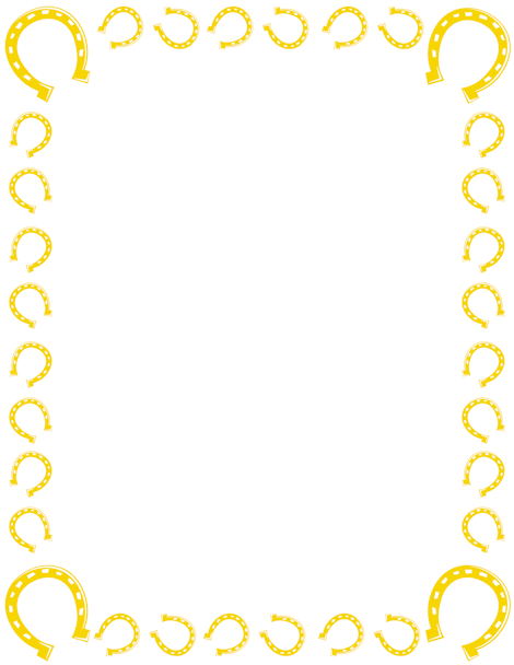 printable horseshoe border free gif jpg pdf and png downloads at rh pinterest com free horseshoe border clip art Printable Borders