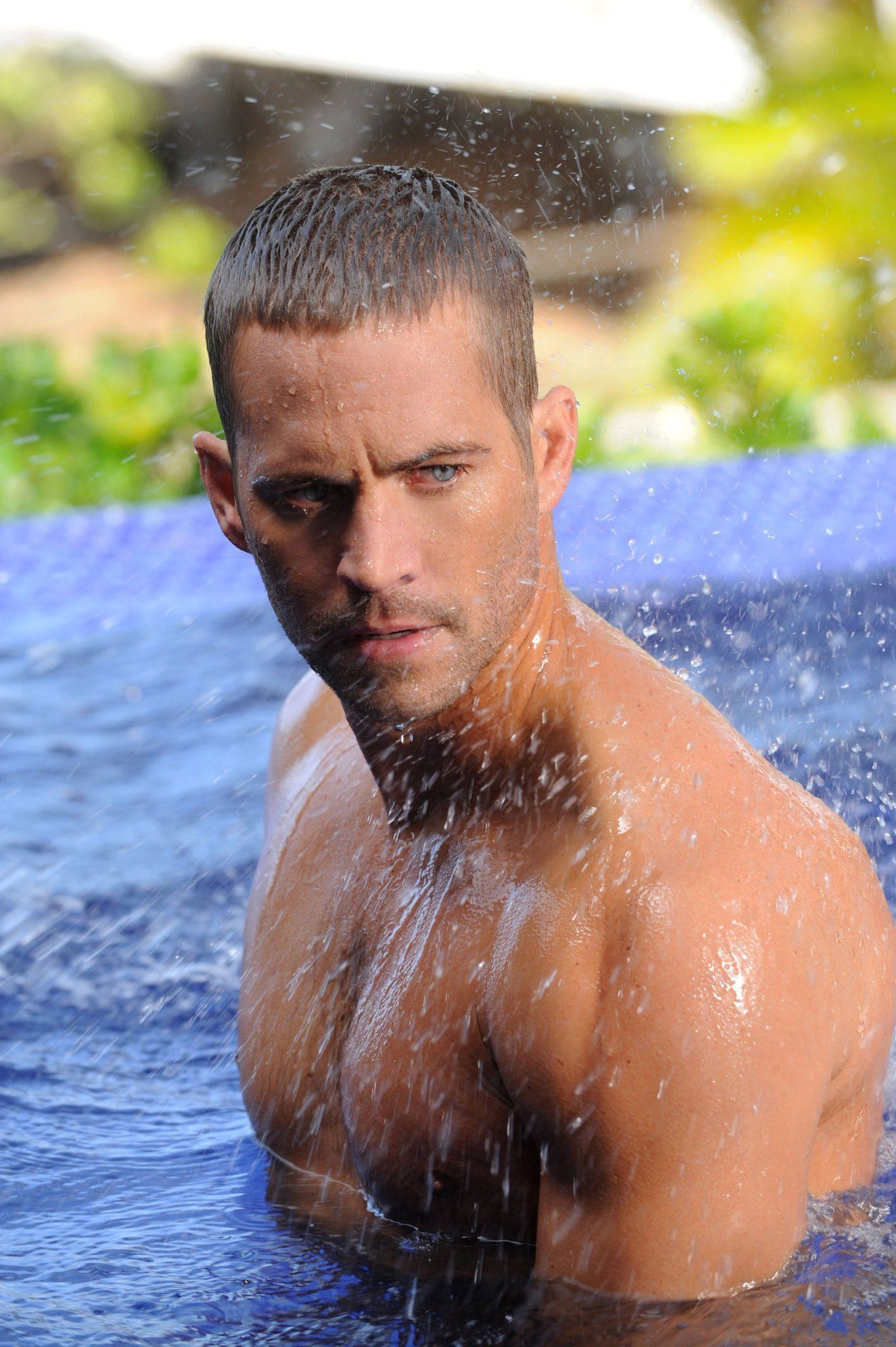 Paul Walker Davidoff Cool Water My Favorite People Haarschnitt