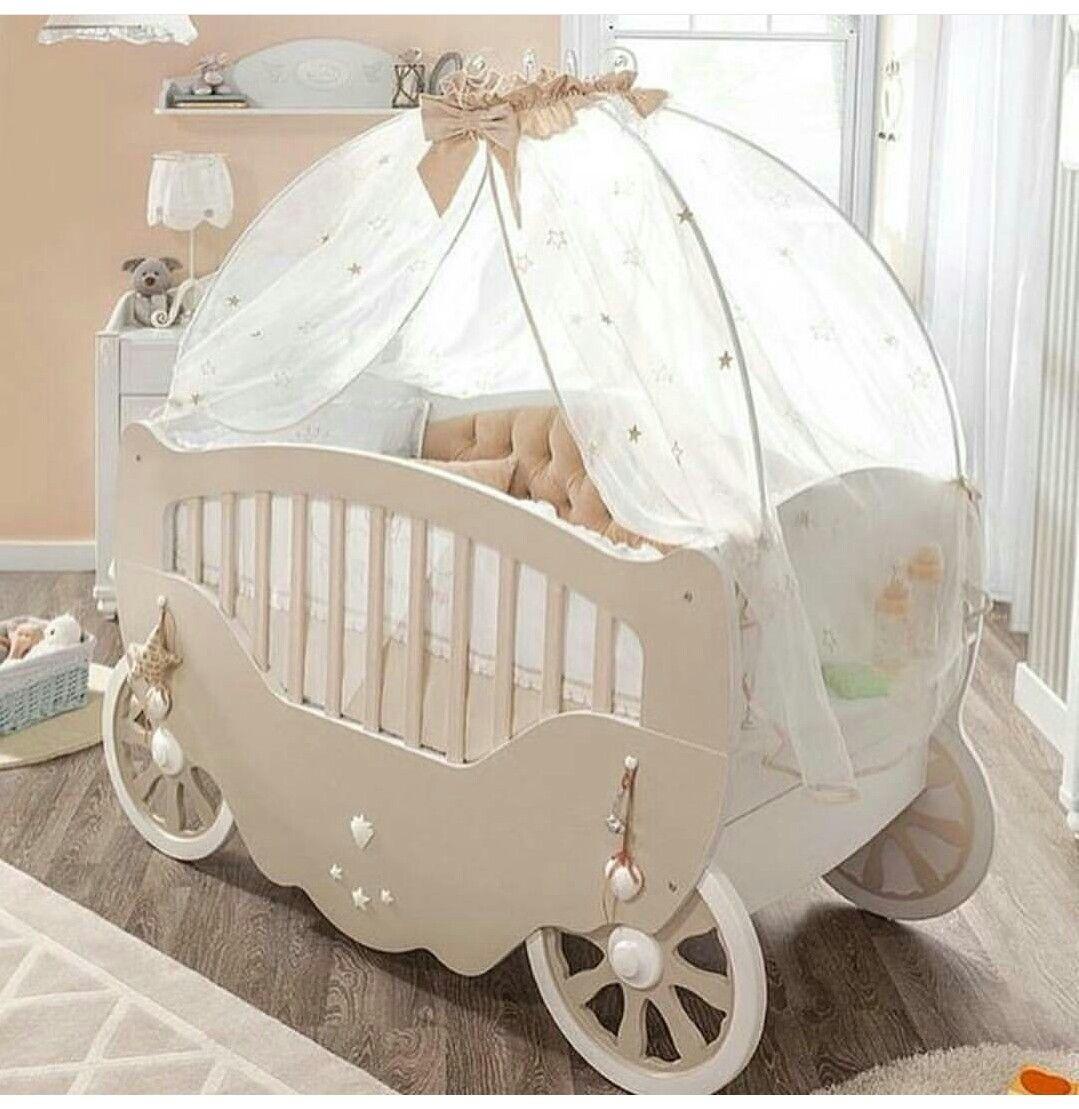 Love This Cinderella Carriage Baby Bed Cinderellacarriagebabybed Room Ideas Pinterest