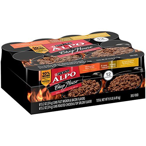 Purina Alpo Chop House Filet Mignon And Bacon Flavors Roasted