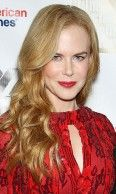 Nicole Kidman With A Long Curly Red Style