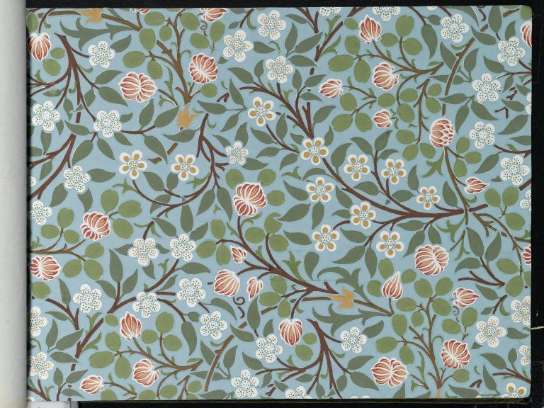 Brooklyn Museum Wallpaper Sample William Morris And