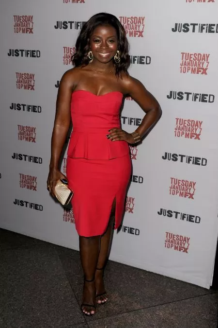 Erica Tazel From Justified Husband Marriage Age In 2020 Strapless Dress Formal Peplum Dress Dresses More at imdbpro » contact info: pinterest