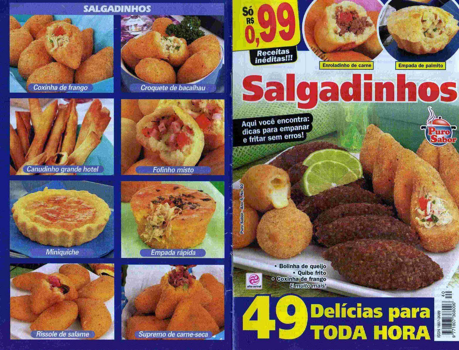 Brazilian Food Salgadinhos..gostoso