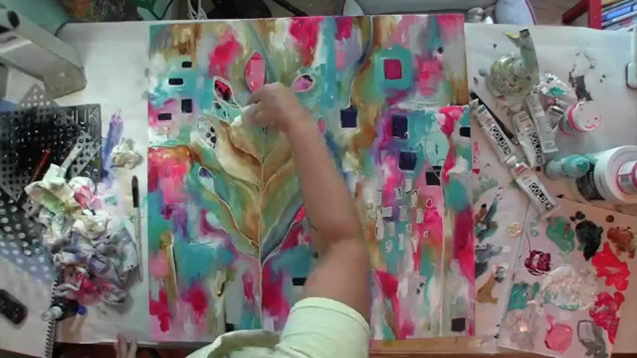canvas in time lapse