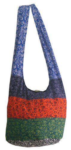 Vintage Patchwork Sling Cotton Crossbody Shoulder Bag Purse Hippie Hobo Boho PM28