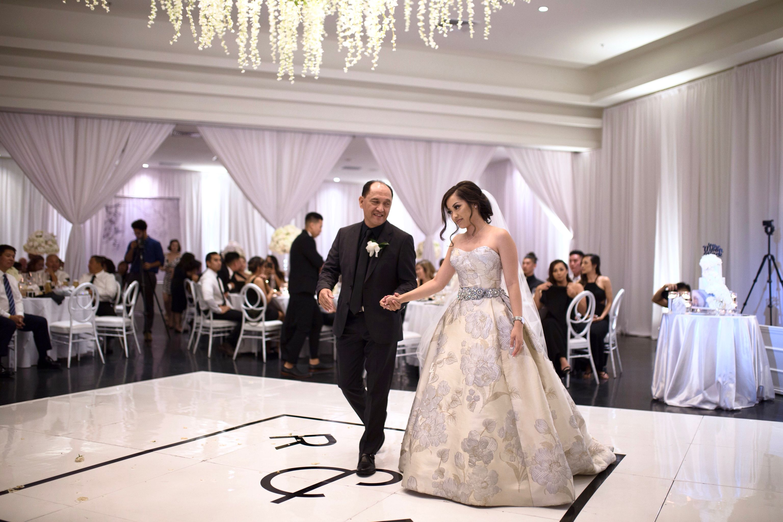 Oleg Cassini Bridal Dress   Black and White Wedding   Black and ...
