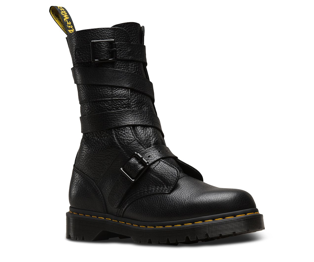 f3186b9ce07 A moto-style boot with Dr. Martens edge