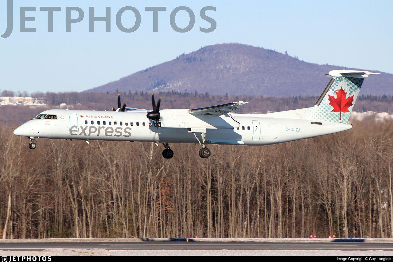 Bombardier Dash 8Q402 Air Canada Express (Jazz Aviation