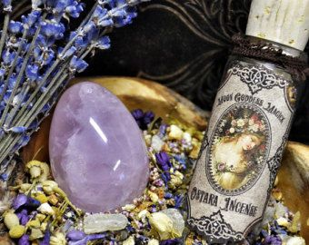 Ostara Incense~ Spring, Rebirth, New Life, Renewal~ Spring Equinox ~ Fertility Magick~ Witchcraft~ Wheel of the Year ~ 1oz bottle Organic