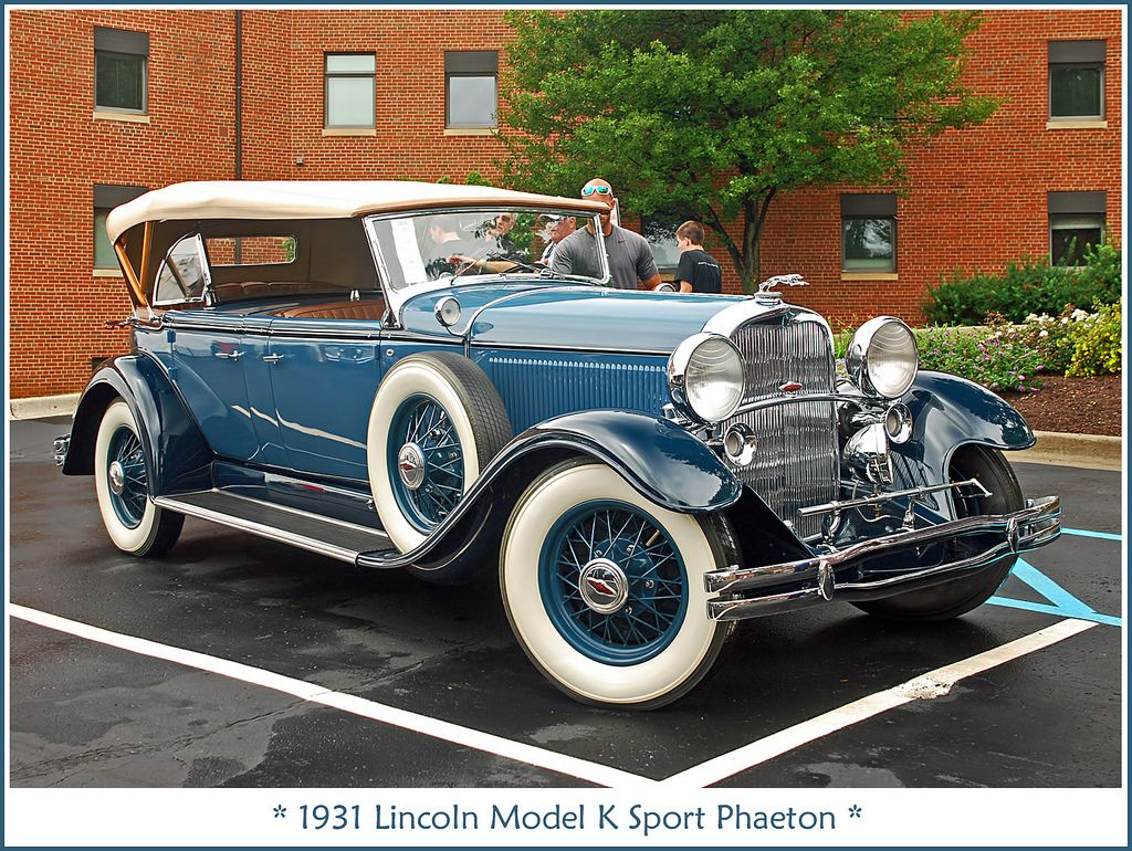 1931 Lincoln Sport Phaeton   Car photos, Plymouth and Cars