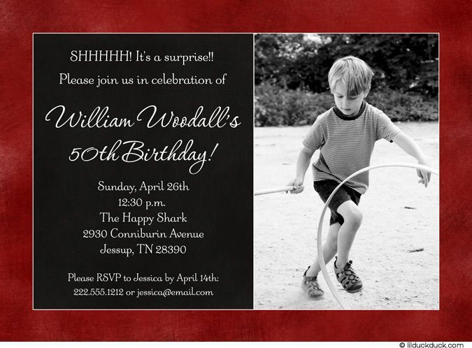 Fun Birthday Invitations My Birthday Pinterest – Birthday Invitations for Men