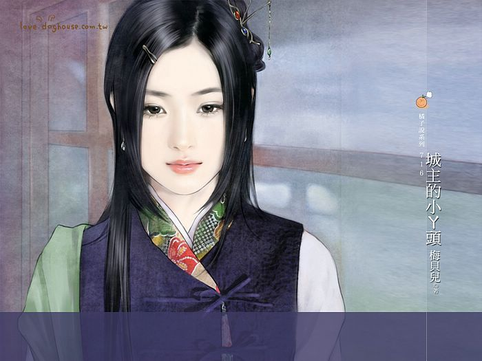 Elegant Lady of Song Dynasty -  Ancient Chinese Women Wallpaper  34