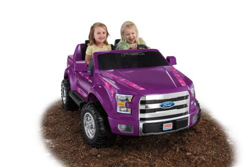 Fisher Price Power Wheels Ford F 150 Purple Camo Coche Para