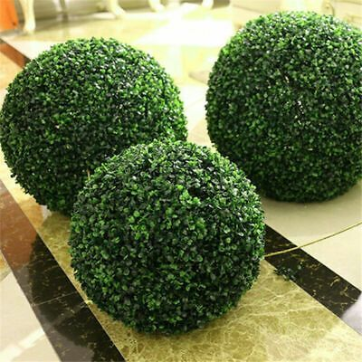 Artificial Plant Ball Topiary Tree Boxwood Wedding Party Outdoor DecorationWTUS