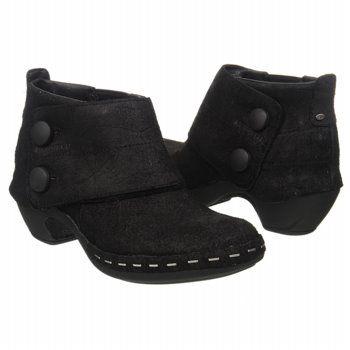 Women's MERRELL Luxe Button Black Shoes.com