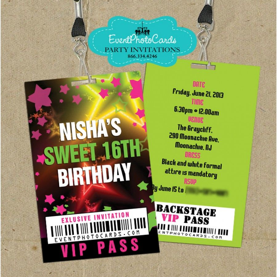 vip ticket invitations – Vip Ticket Invitations
