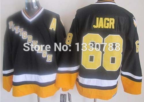 timeless design ec364 929bd PITTSBURGH PENGUINS THROWBACK JERSEY #68 JAROMIR JAGR JERSEY ...