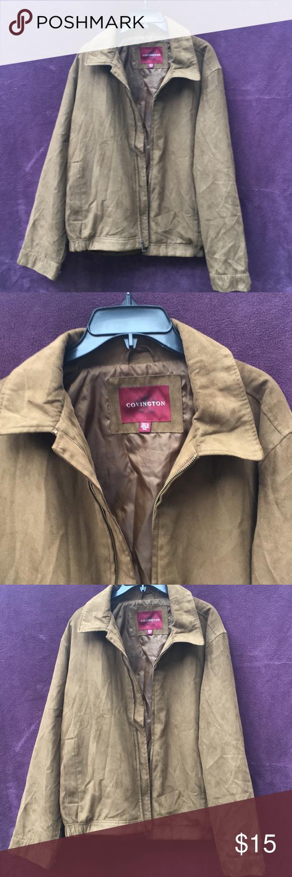 Brown Jacket Like A Brand New Medium Size Covington Jacket Light Brown Worn Couple Times Covington Jackets Co Brown Jacket Jackets Lightweight Shirts [ 1740 x 580 Pixel ]