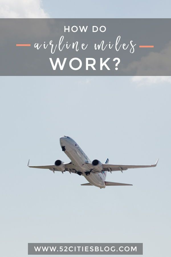 Confused about how to get airline miles for free travel? Click here for the ultimate guide with tips for every major US airline, including Alaska, American Airlines, Delta, JetBlue, Southwest, and United.     #AirlineMiles #TravelOnABudget #FlightDeals #TravelTipsBudget #TravellingOnABudget #CheapTravel #BudgetTravel #Rewards #SaveMoney #BudgetingTips #FreeTravel #AffordTravel #SaveMoneyOnTravelling #SaveMoneyOnTravel #FrugalVacation #FrugalTravel #TravelBlogger #TravelBlog #52CitiesBlog
