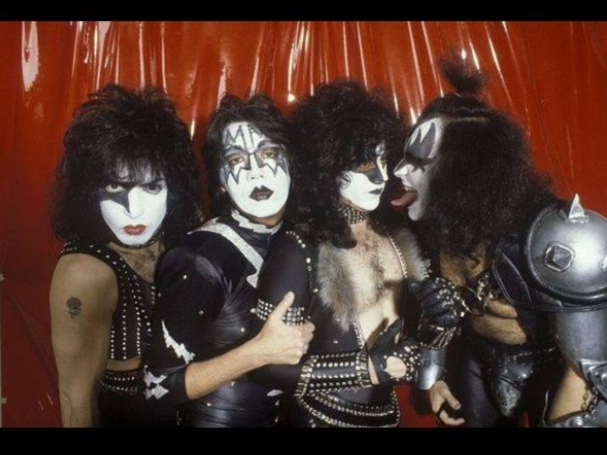 Paul Stanley Ace Frehley Eric Carr Gene Simmons Kiss Members