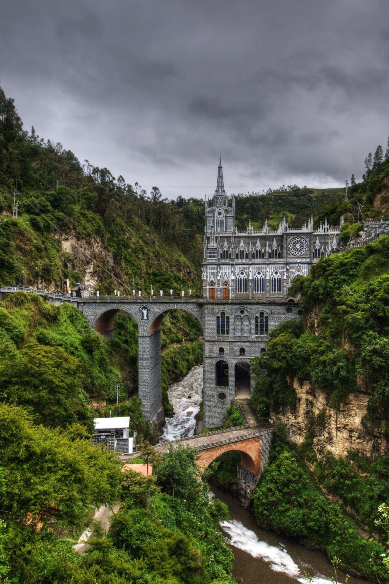cherjournaldesilmara:  Santuário de Las Lajas, Colômbia