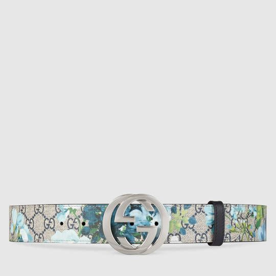e376db3d92b0 Gucci GG Blooms belt with G buckle   Belts   Belt, Gucci, Fashion