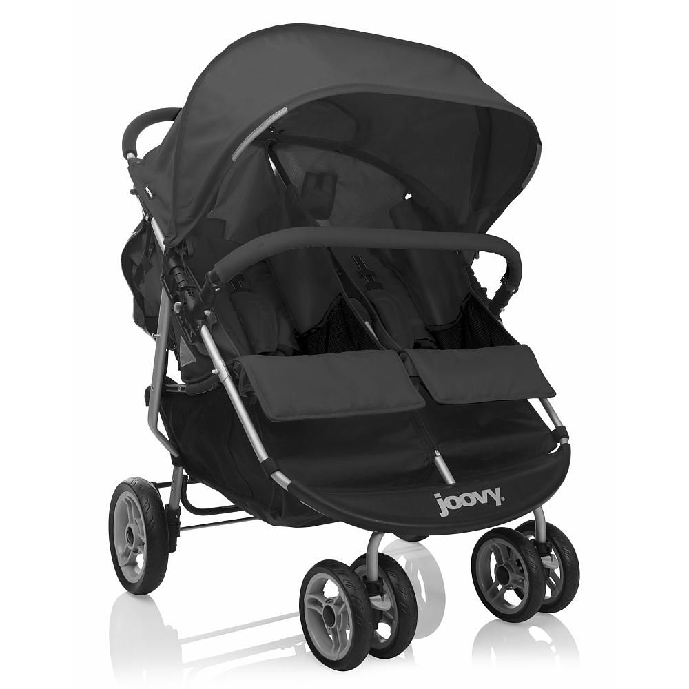 The Joovy ScooterX2 Double Stroller has a new stylish