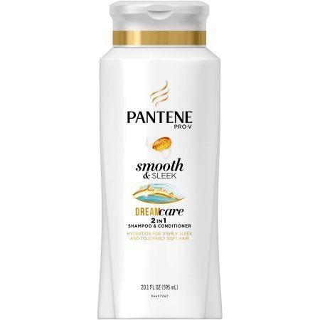 Pantene Pro-V Smooth & Sleek 2 in 1 Shampoo & Conditioner, 20.1 fl oz