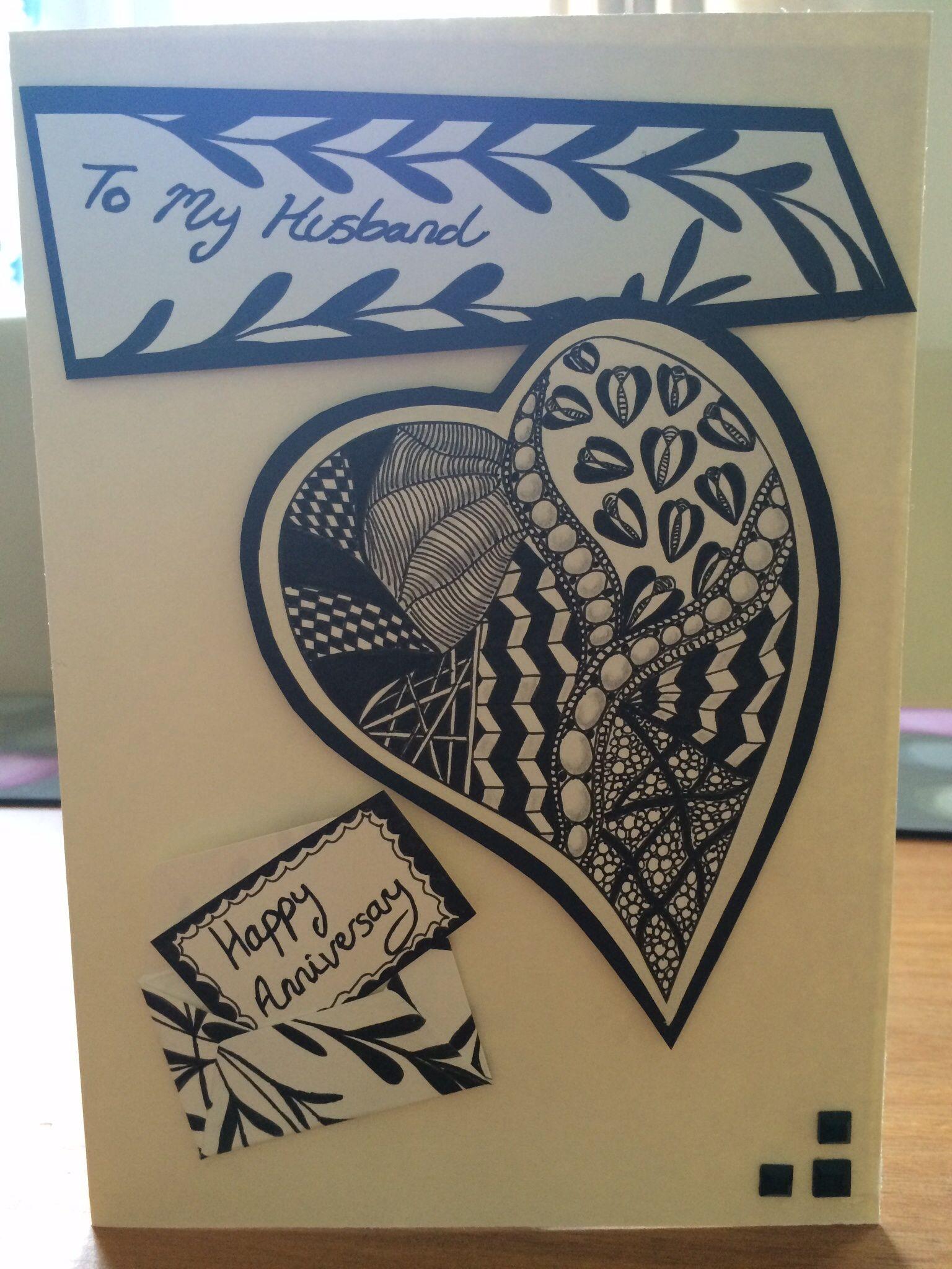 Kio Cards Hand Drawn Love Arrow Anniversary Card Love Cupid Arrow Anniversary Cards Handmade Valentine Cards Handmade Homemade Anniversary Cards