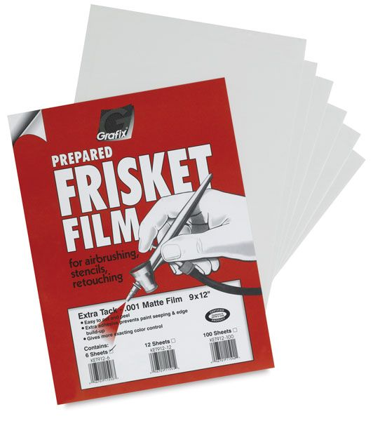 Grafix Frisket Film Screen Printing Supplies Screen Printing
