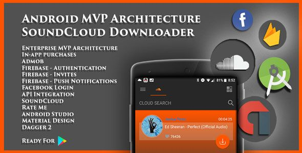 Android MVP Architecture SoundCloud Downloader