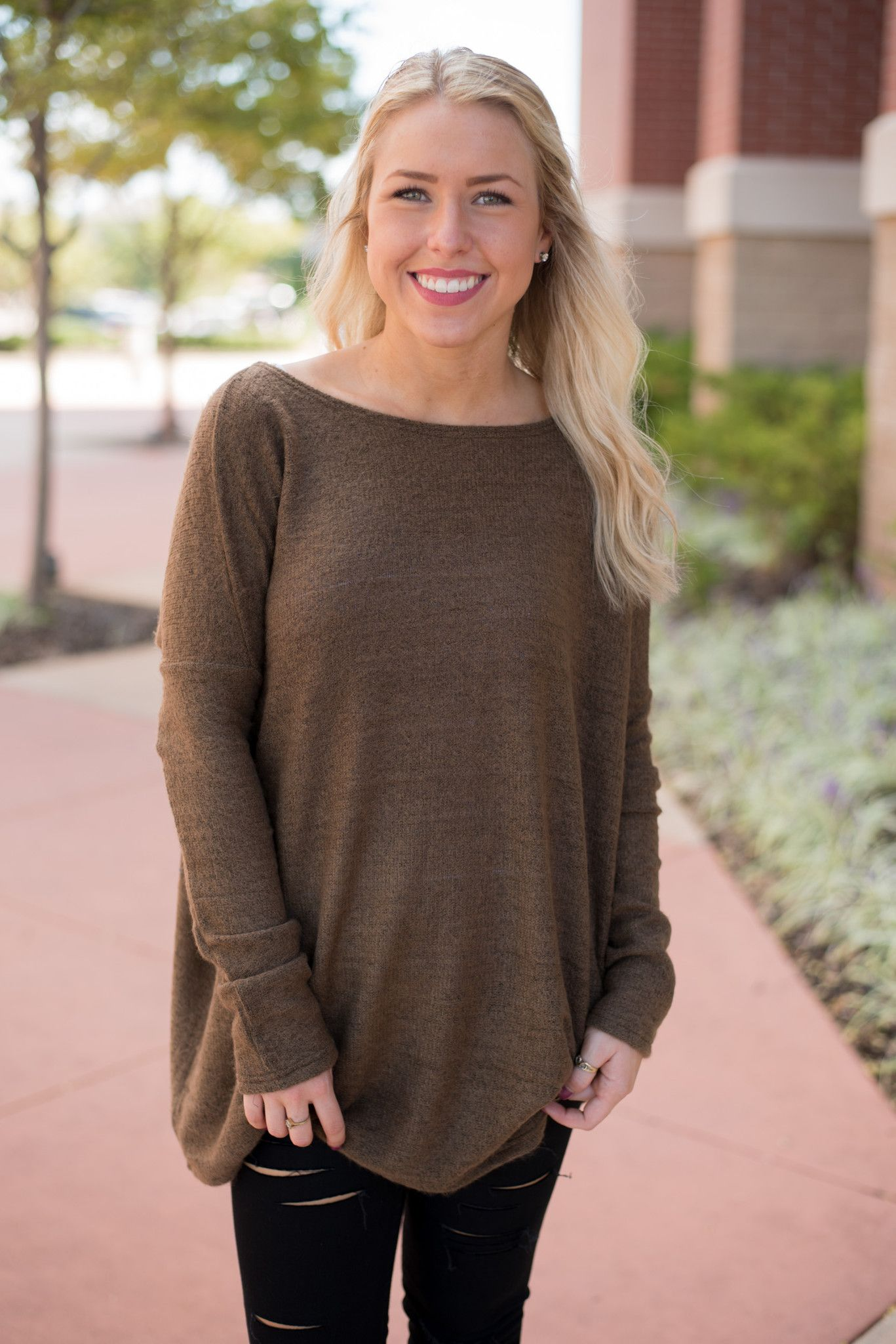 Piko sweater brown | LUSH, Brown and Bodies