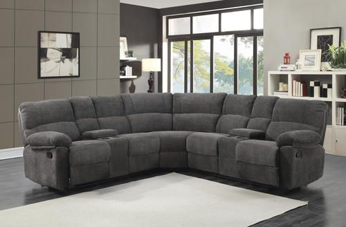 Hall 3 Piece Reclining Sectional At Menards Living Room