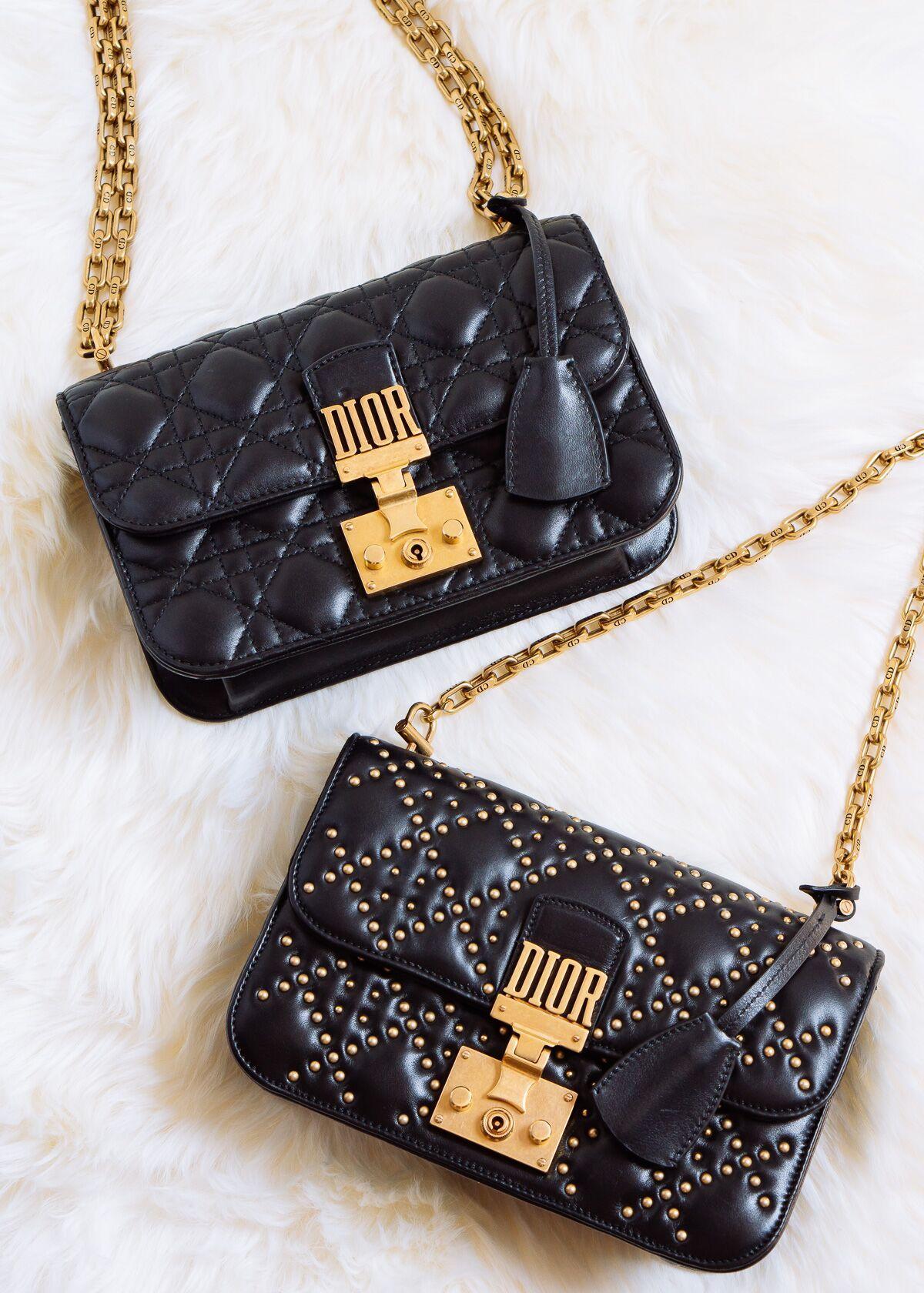 10c4fc39d1e9 Up Close with the Dior Addict Bag - PurseBlog