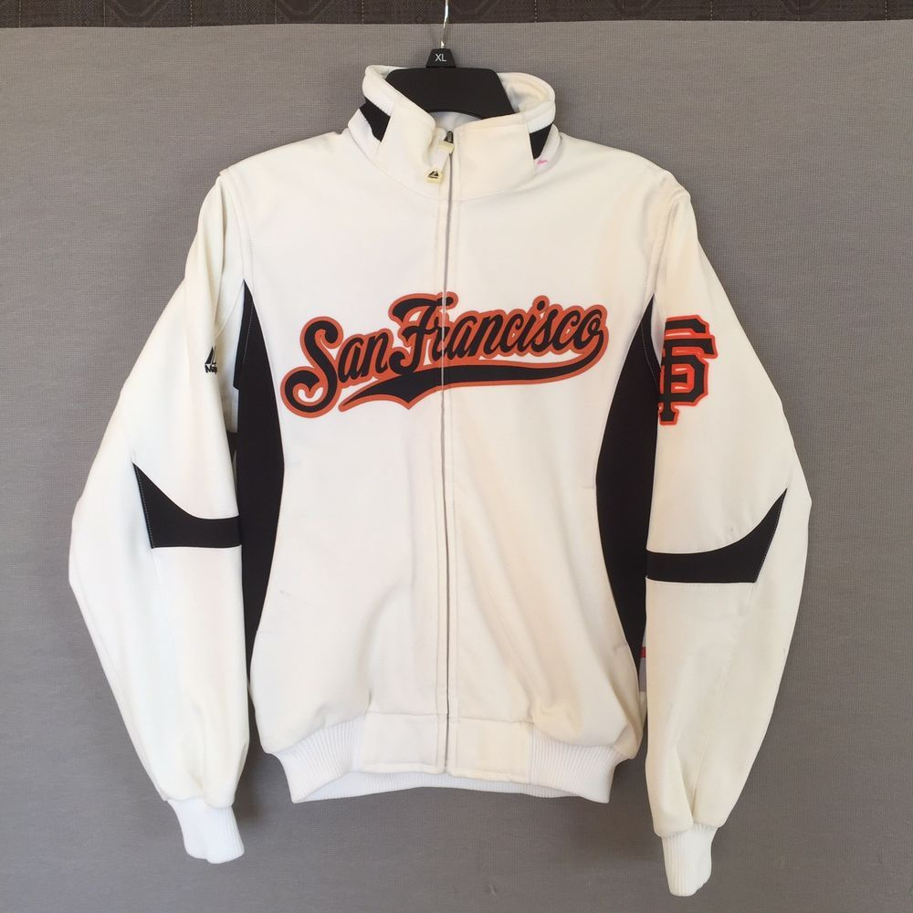 newest f6a7f c91aa Authentic Collection San Francisco Giants Jacket Men ...