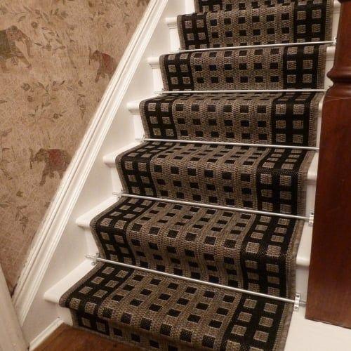 Best Lattice Brown Stair Runner Carpet Stairs Carpet Runner 640 x 480