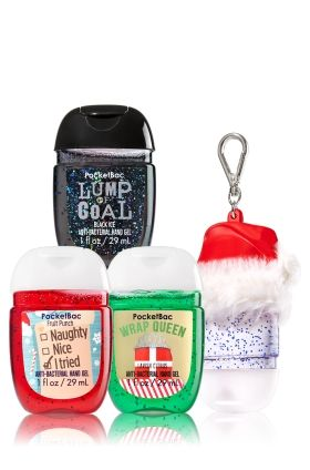Stocking Stuffers 3 Pack Pocketbac Holder Soap Sanitizer
