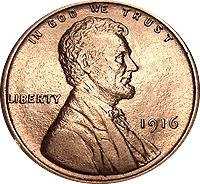 1916 Wheat Penny